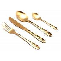 Набор столовых приборов Herdmar ATLANTA OLD GOLD-3 на 6 персон 24 предмета