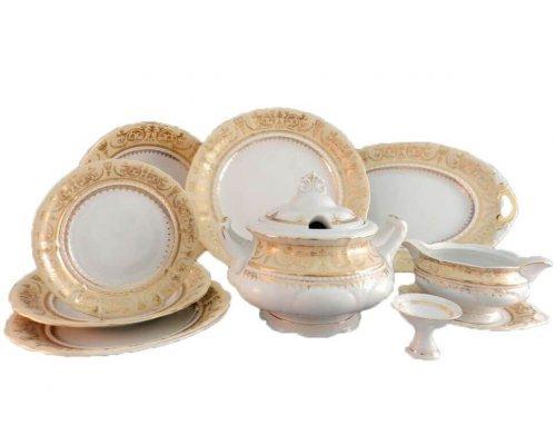 Сервиз столовый Rudolf Kampf Национальные Традиции 238С на 6 персон 25 предметов в подарочном коробе