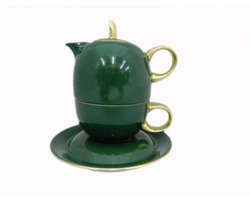 Восточный чайный набор Rudolf Kampf Дуо2554 (чайник 0,4 + чашка 0,2)