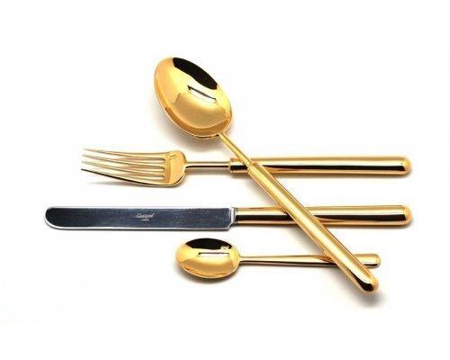 Набор столовых приборов Cutipol BALI GOLD на 6 персон 24 предмета
