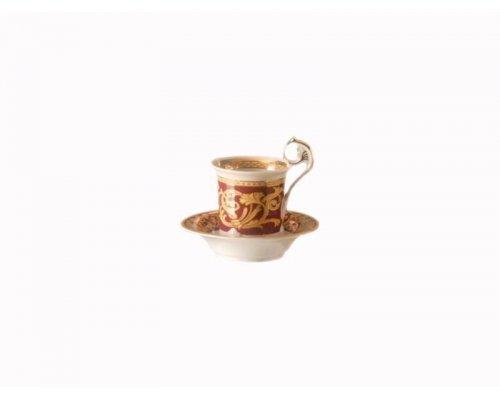 Чашка высокая с блюдцем на ножке Rudolf Kampf Тет-а-тет 0503 0,2 л