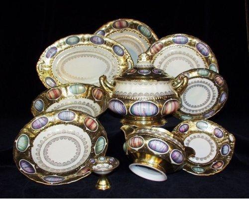 Сервиз столовый Rudolf Kampf Antique Medallions на 6 персон 25 предметов в подарочном коробе