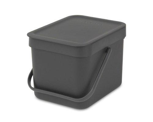 Ведро для мусора Brabantia SORT&GO 6л