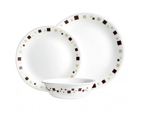 Набор посуды столовый сервиз Corelle Geometric на 4 персоны 12 предметов