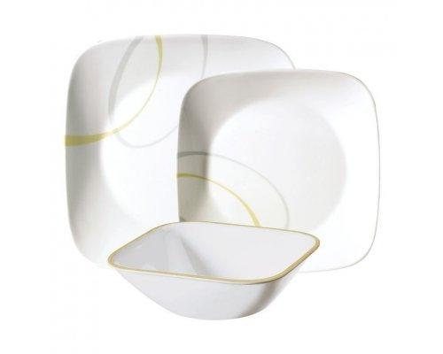 Набор посуды столовый сервиз Corelle Modern Lines на 4 персоны 12 предметов