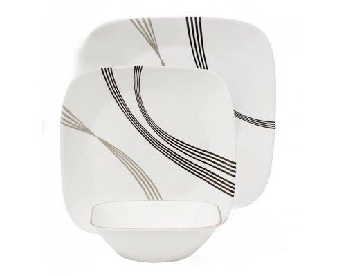 Набор посуды столовый сервиз Corelle Urban Arc на 4 персоны 12 предметов