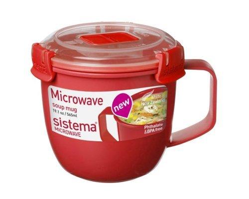 Кружка суповая 565мл Sistema MICROWAVE
