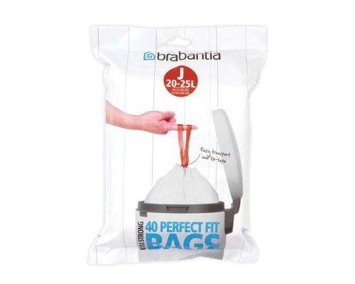 Пакет пластиковый Brabantia J 23л 40шт