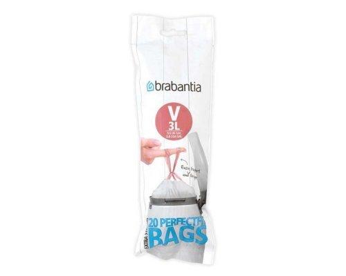 Пакет пластиковый Brabantia V 3л 20шт