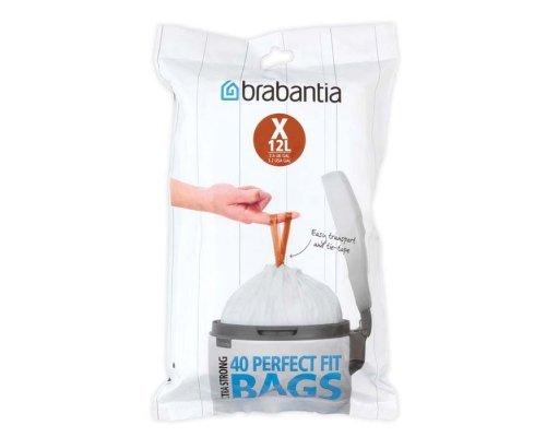 Пакет пластиковый Brabantia X 10-12л 40шт