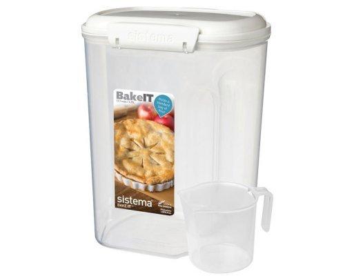 Контейнер 3,25л с чашкой Sistema BAKE-IT