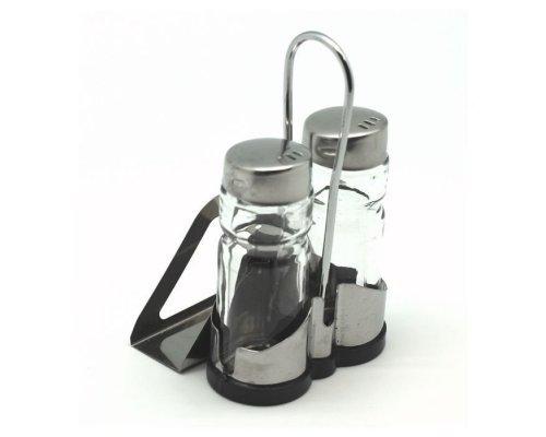 Набор для соли и перца Hans & Gretchen на подставке