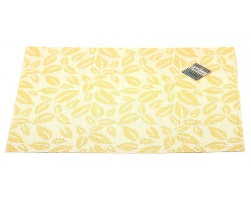 Подставка под горячее Hans & Gretchen полимер 30*40см золотые листья
