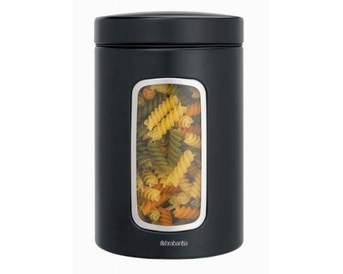 Контейнер для сыпучих продуктов с окном 1,4л. Brabantia