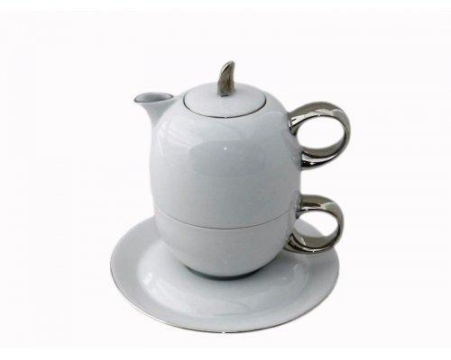 Восточный чайный набор Rudolf Kampf Дуо 2565 (чайник 0,4 + чашка 0,2)