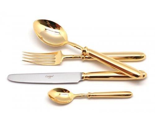 Набор столовых приборов Cutipol MITHOS GOLD на 12 персон 72 предмета