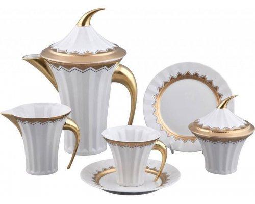 Сервиз чайный Rudolf Kampf Древний Египет 2016 на 6 персон 15 предметов в подарочном коробе