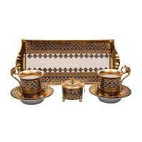 Подарочный набор чайный Тет-а-тет Rudolf Kampf Национальные Традиции 2075 на 2 персоны в подарочном коробе