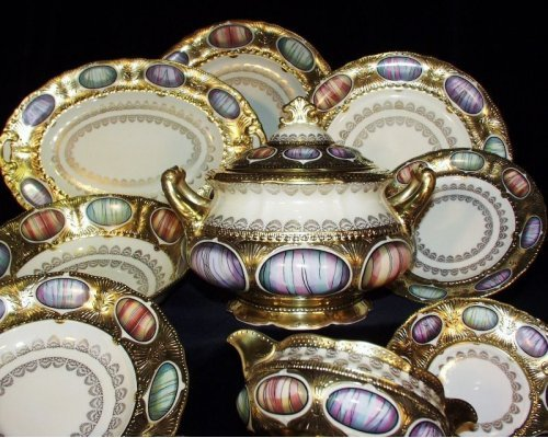 Сервиз столовый Rudolf Kampf Antique Medallions на 6 персон 43 предмета