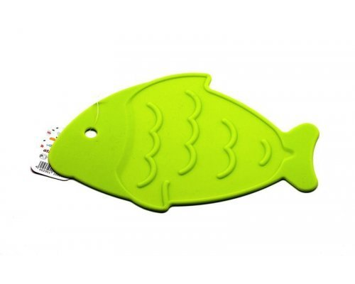 "Подставка под горячее Atlantis Silicon ""Рыба"" зеленая"