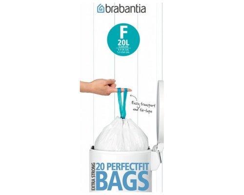 Пакет пластиковый Brabantia высокий 20л 20шт