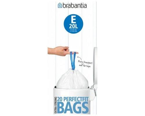 Пакет пластиковый Brabantia 20л 20шт