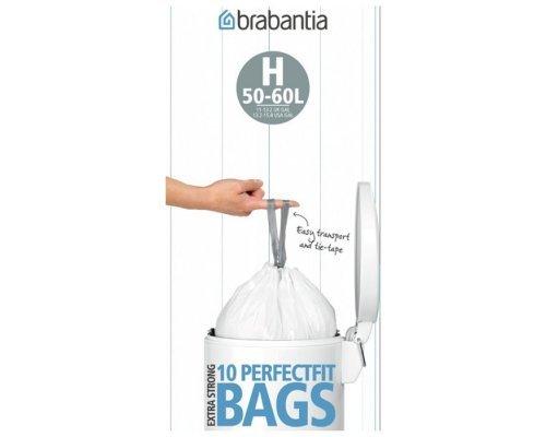 Пакет пластиковый Brabantia 40/50л 10шт