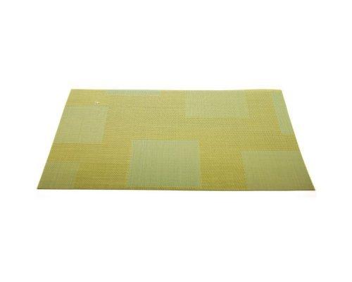 Подставка под горячее HANS & GRETCHEN полимер 30х40см желто-зеленая