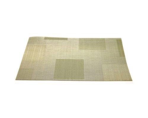 Подставка под горячее HANS & GRETCHEN полимер 30х40см зеленые квадраты