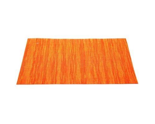 Подставка под горячее HANS & GRETCHEN полимер 30х40см оранжевый меланж
