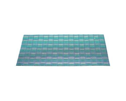 Подставка под горячее HANS & GRETCHEN полимер 30х40см голубой меланж