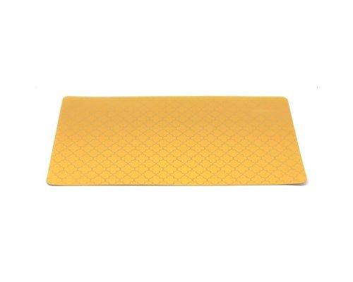 Подставка под горячее HANS & GRETCHEN полимер 30х40см желтая решетка