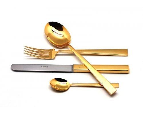 Набор столовых приборов Cutipol BAUHAUS GOLD на 6 персон 24 предмета