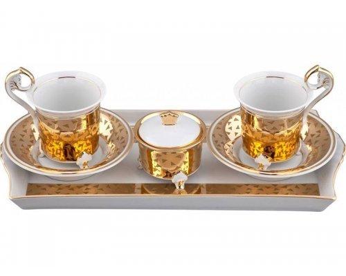 Подарочный набор чайный Rudolf Kampf Тет-а-тет В859 на 2персоны в подарочном коробе