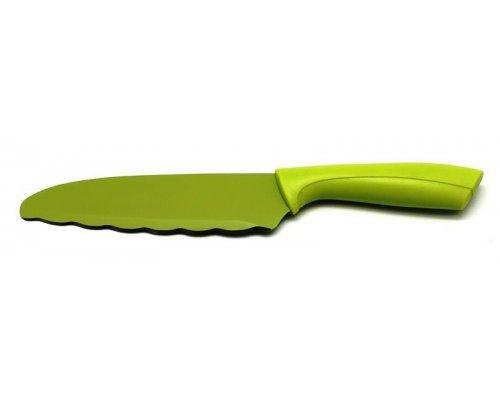Нож универсальный Atlantis Color Зеленый 16см