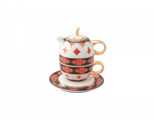 Восточный чайный набор Rudolf Kampf Национальные Традиции 2095 линия Турция (чайник 0,4 + чашка 0,2)