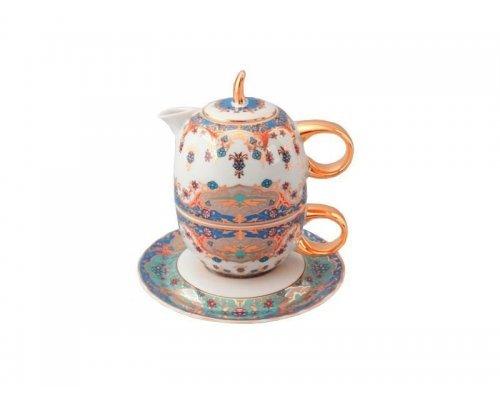 Восточный чайный набор Rudolf Kampf Национальные Традиции 2025 в подарочном коробе (чайник 0,4+чашка 0,2)