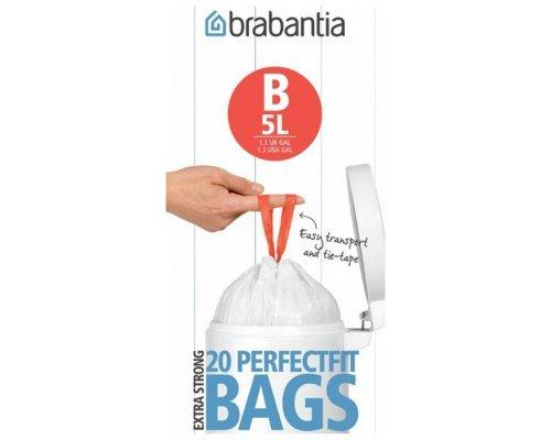 Пакет пластиковый Brabantia 5л 20шт