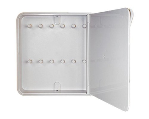 Ящик для ключей BYLINE полированный белый