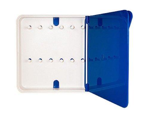 Ящик для ключей BYLINE полированный синий