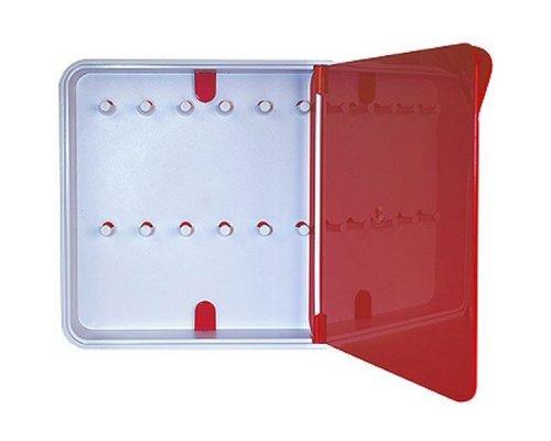 Ящик для ключей BYLINE полированный красный