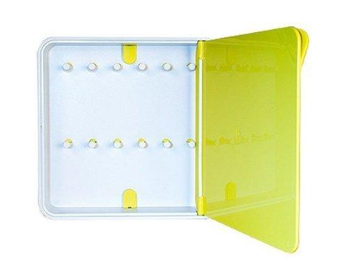 Ящик для ключей BYLINE полированный желтый