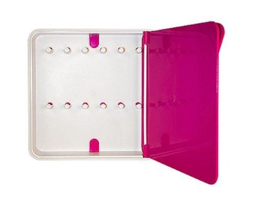 Ящик для ключей BYLINE полированный розовый