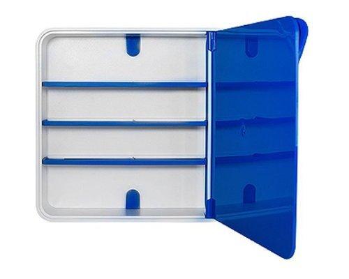 Ящик для лекарств BYLINE полированный синий