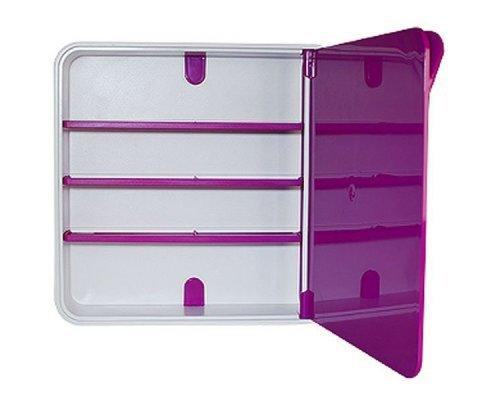 Ящик для лекарств BYLINE полированный фиолетовый