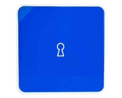 Ящик для ключей BYLINE матовый синий