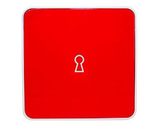 Ящик для ключей BYLINE матовый красный