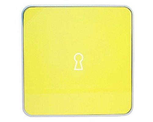 Ящик для ключей BYLINE матовыйый желтый