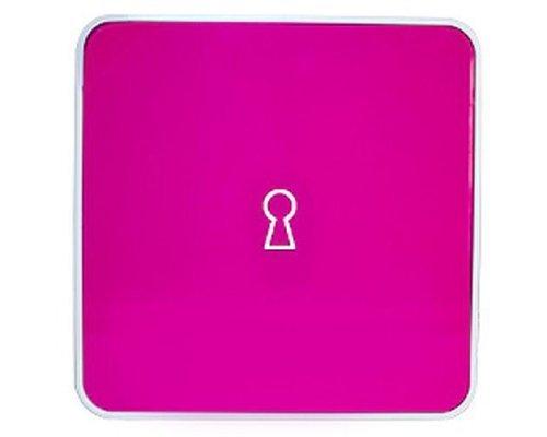 Ящик для ключей BYLINE матовый розовый