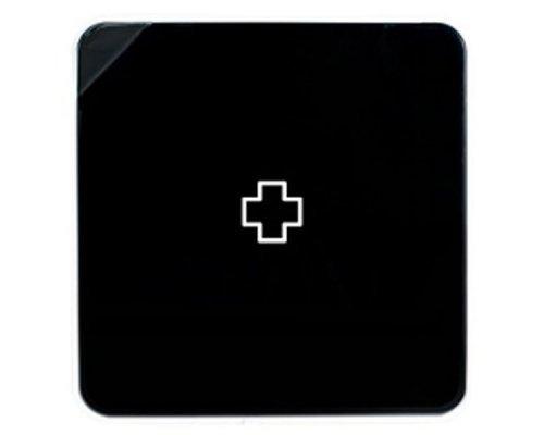 Ящик для лекарств BYLINE матовый черный